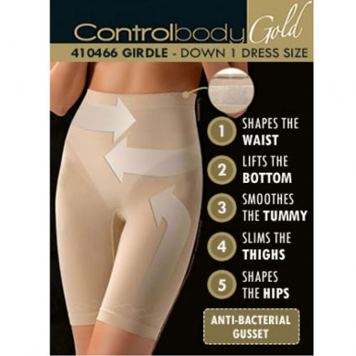Control Body Shaping GOLD  Girdle - Firm Support